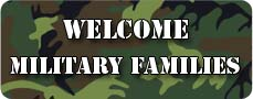Welcome Military Families
