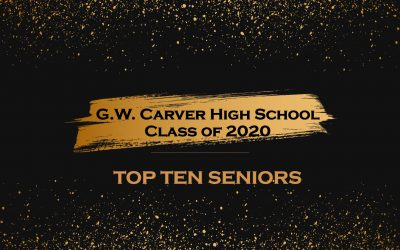 Congratulations to Class of 2020 Top 10 Seniors